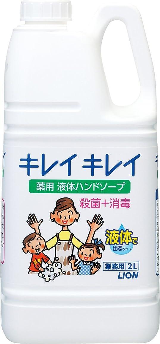 ある心理的に統治する【業務用 大容量】キレイキレイ 薬用 ハンドソープ 2L(医薬部外品)