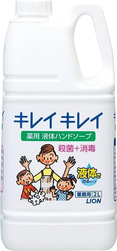 モス苦味本質的に【業務用 大容量】キレイキレイ 薬用 ハンドソープ 2L(医薬部外品)