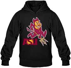 CYANY Arizona State University ASU Women's Unique Hoodies Hoodie Black