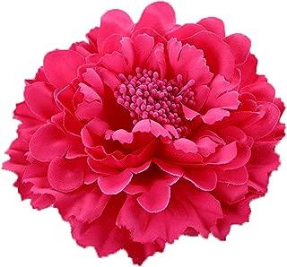 HC-01 Floral Fall Rose Flower Hair Clip Flamenco Dancer Pin up Flower Brooch