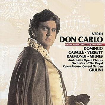 Verdi: Don Carlo - Highlights