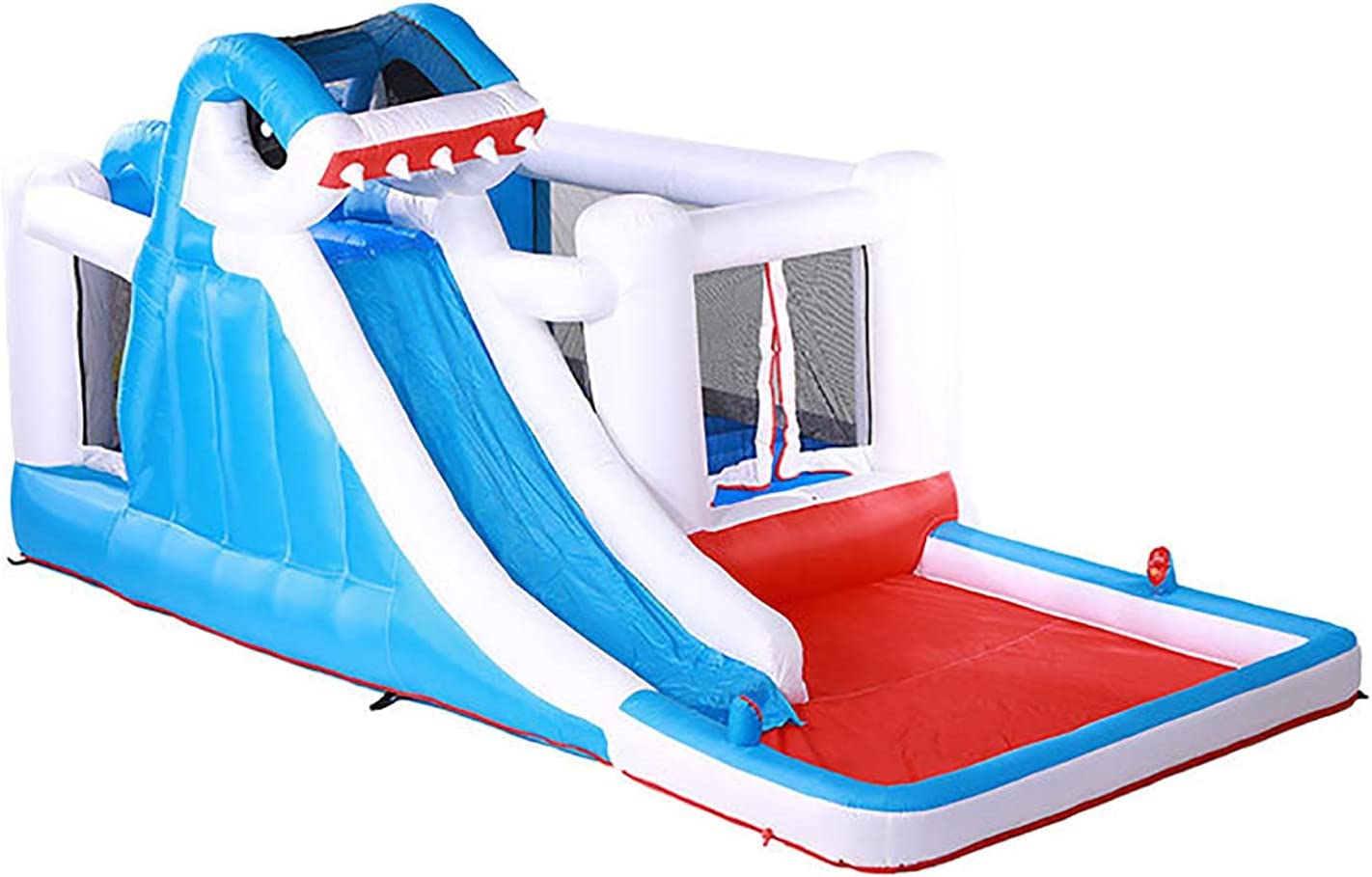 Inflatable Water Slide for unisex Household Bounce Children's Use Room Max 67% OFF