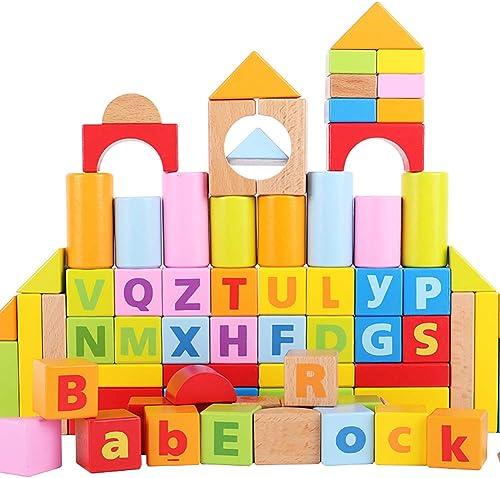 SU Kinder Bausteine Spielzeug Digitale Buchstabenerkennung Bausteine Geeignet Für Kinder Von 1-6 Jahren Frühkampfp gogik Puzzle Eltern-Kind