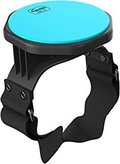 Drum Practice Pad - Guitto GDP-01 Drum Pad Holder Stand, Leg Practice Drum with Strap for Kids for Adults, 5-Inch