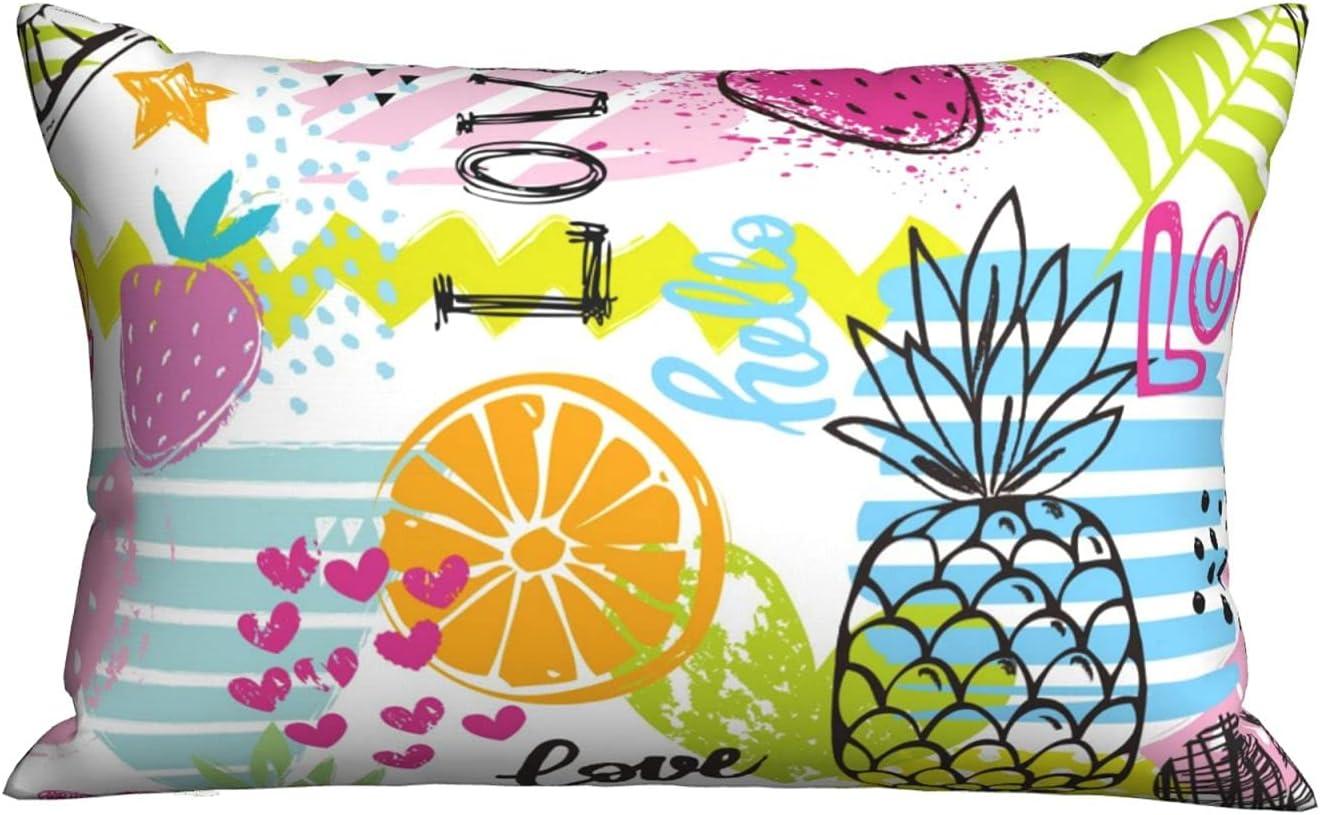 Love Sale Fruit Pillows Pillowcase Our shop most popular Pillow Sleeping Bed