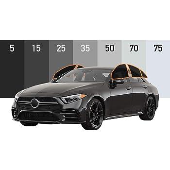AutoTech Zone Precut Custom Window Tinting Kits for Nissan Versa Sedan 2015-2018 model with 30/% Light Transmittance