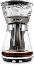 DeLonghi Clessidra, Drip Coffee Maker, 1800W, 1.25L carafe, 10 Cups - DLICM17210, silver