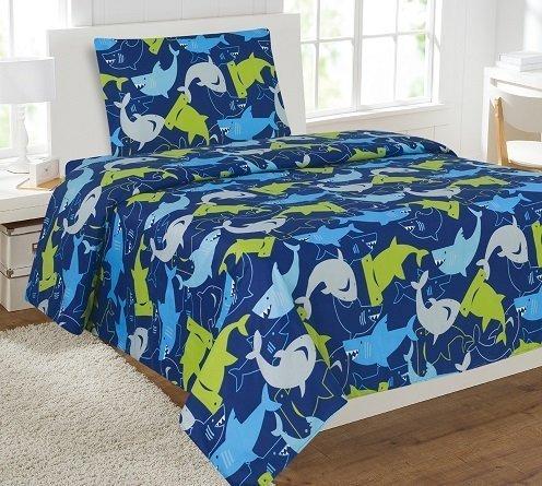 shark bed sheets full - 8