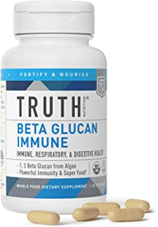 Sponsored Ad - Beta Glucan Immune - Beta 1,3D Glucan Immune Support - Immune Booster, Clinically Studied - Yeast Free, Veg...