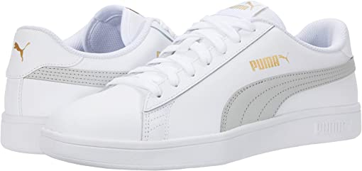 Puma White/Gray Violet/Puma Team Gold