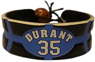 NBA Kevin Durant Team Color Jersey Bracelet