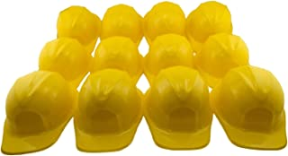 Tytroy Construction Plastic Hard Hats Kids Party Favors Costume - 12 Pack - Yellow