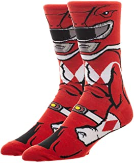 Power Rangers Red Ranger 360 Character Crew Sock