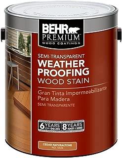 BEHR Premium 1 gal. #ST-533 Cedar Naturaltone Semi-Transparent Waterproofing Stain and Sealer