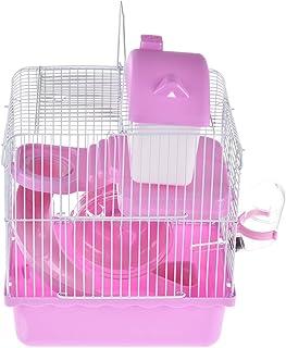 Pequeñas jaulas de plástico para mascotas, hámster de