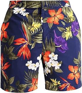 Floral Printed Swim Trunks