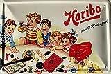 Haribo macht Kinder froh Funschild Blechschild 20x30 cm Schild Sign Blechschilder