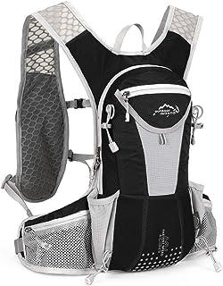 UTOBEST ハイドレーションリュック ランニングバッグ サイクリングリュック スポーツバッグ ウォーキング用バッグ マラソン ジョギング 自転車リュック 軽量 防水 通気 10L 5色選び