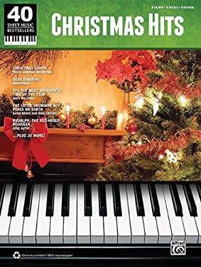 Christmas Hits: 40 Sheet Music Bestsellers Series