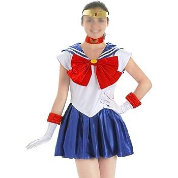 CoolChange Disfraz Cosplay de Sailor Moon, Talla: L: Amazon.es ...