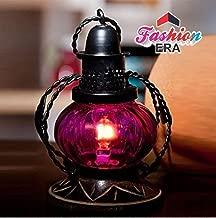 Fashion Era Pink Electric Lamp Holder Decorative Table Lamp Hanging Lantern Stand Tea Light