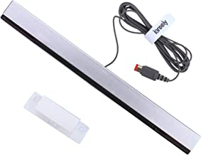 Wii Sensor Bar - iGreely Wireless Sensor Bar Compatible With Nintendo Wii / Wii U (with Stand) Replacement Infrared IR Ray...