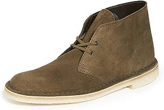 CLARKS Originals Men's Navy Leather Desert Boot 12 D