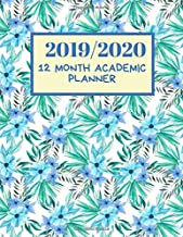 """2019/2020 12 Month Academic Planner: Simple Easy To Use August 2019 to July 2020 Academic Daily Weekly Monthly and Year Calendar Planner Organizer and Lesson Record Book Log 8.5""""x11"""" 120 pages."""