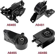 cciyu Engine Motor and Trans Mounts A6486 A6481 A6465 A6485 Set of 4 fit for Mazda Protege 1999-2000 1.8L 2001-2003 2.0L Protege5 2002-2003 2.0L