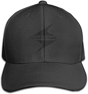 STAR TRAK Logo Snapback Cotton Baseball Cap Flat Hat