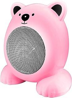 XYW-0007 Calefactor EléCtrica Calefactor Escritorio De Dibujos Animados, Silencio, EnergíA, Hogar, BañO, Oficina, 360w, Calentador, Rosa