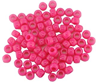 bébé paillettes bleu rose violet aqua glitter pony beads dummy clip 3 pour 2