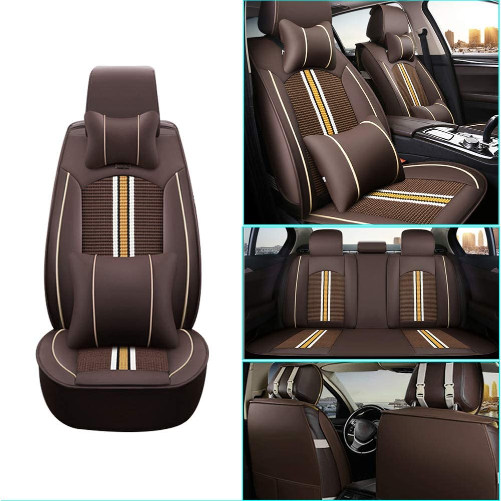 Car Seat 67% OFF of fixed price Cover for Jeep Pro Ranking TOP10 Front+Rear Seats Compass New