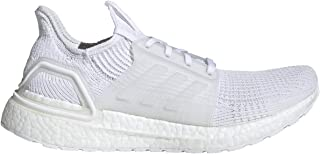 adidas Men's Ultraboost 19 Running Shoes,  White/White/White (12)