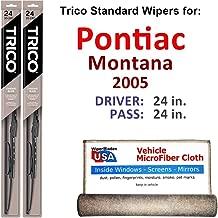 Best 2005 pontiac montana wiper blade size Reviews
