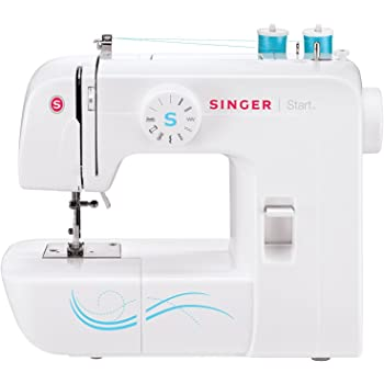 SINGER, 57 Applications-Perfect Made Easy   Start 1304 6 Built-in Stitches, Free Arm Best Sewing Machine for Beginners