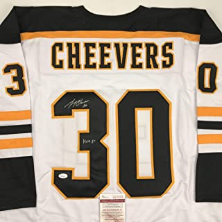 gerry cheevers jersey