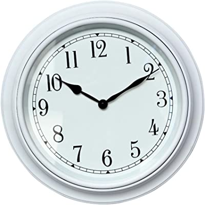 GAOHL Round wall clock creative 16-inch living room clock