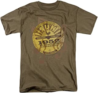 Sun Records Logo Music Adult T-Shirt