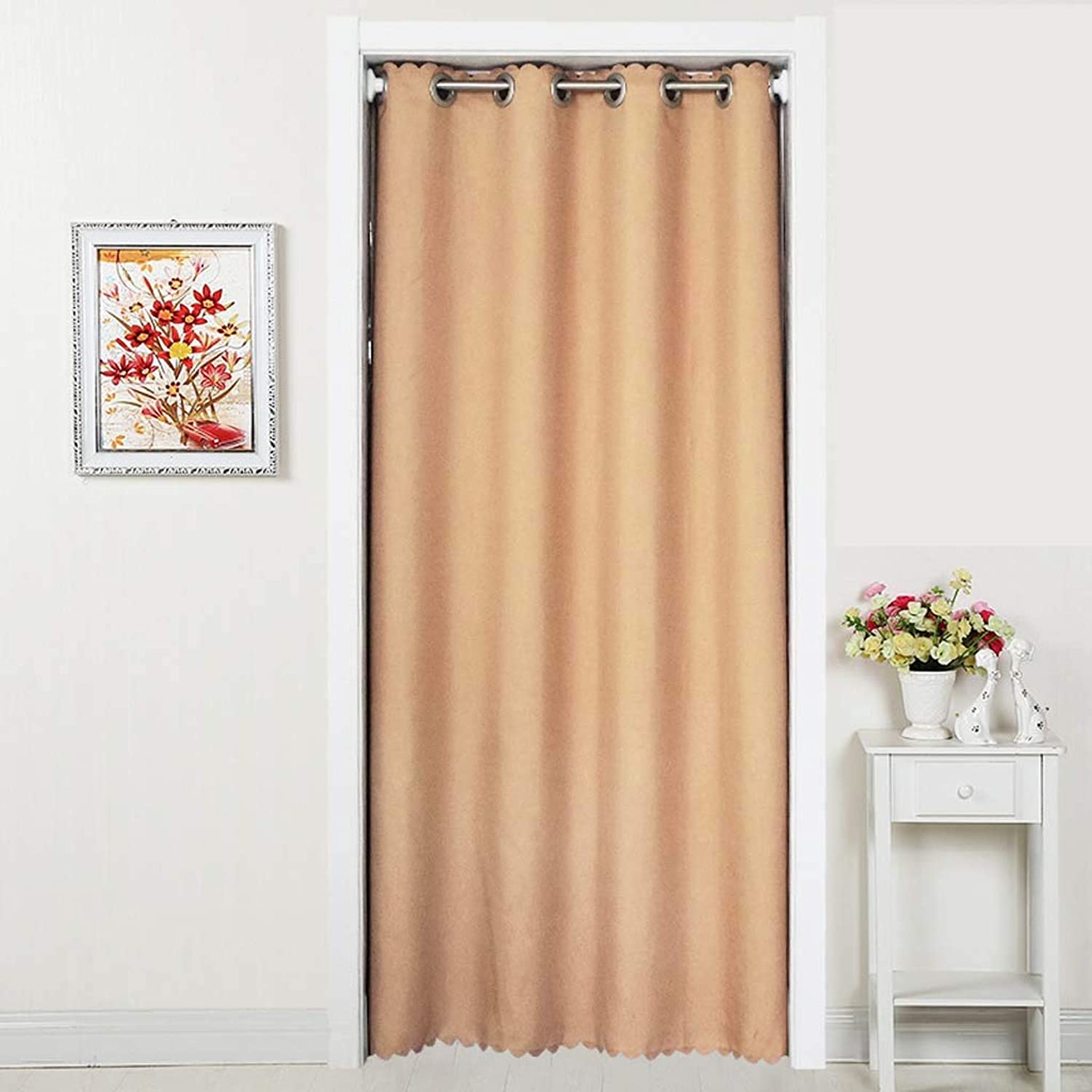 Partition Curtain Free Punch Curtain partition Curtain air Conditioning Insulation Curtain Cloth,2,250  150