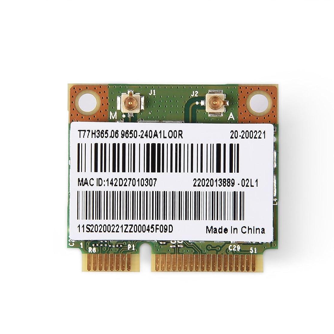 以降ボイコット重大fosa WiFiカード 2イン1 Bluetooth 2.4/ 5G デュアルバンド WiFiカード Intel 945/965/ PM45/ GM45/ HM61/ 65