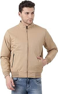 Monte Carlo Beige Solid Polyester Hood Jacket