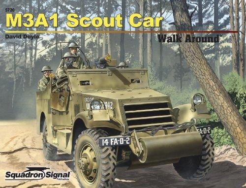 M3a1 White Scout Car Walk Around (Walk Around/On Deck)