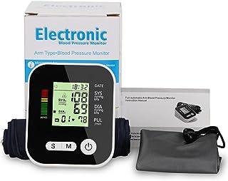 بازوی فوقانی مانیتور فشار خون الکترونیکی اتوماتیک خانگی صدای واقعی واقعی دستگاه های اندازه گیری الکترونیکی دقت در اندازه گیری درجه پزشکی خانگی دستگاه فشار خون قابل شارژ قابل حمل