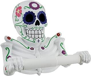 DWK Sugar Skull Toilet Paper Holder Fiesta Tissue