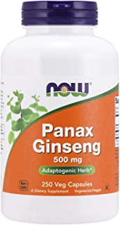 NOW Foods Panax Ginseng, 500 Mg 250 Unidades 200 g
