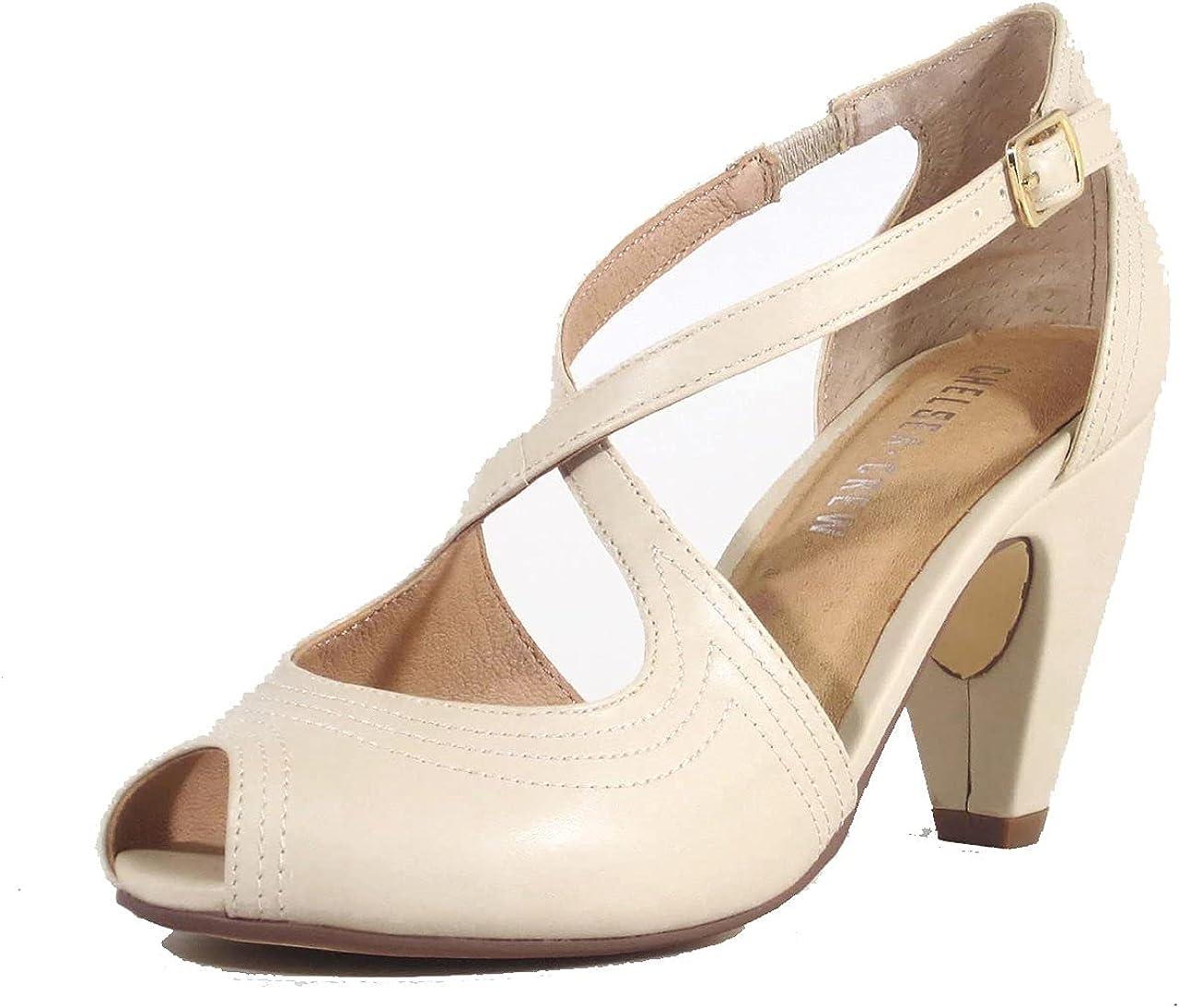 1950s Style Clothing & Fashion Chelsea Crew Natasha Womens Heels  AT vintagedancer.com