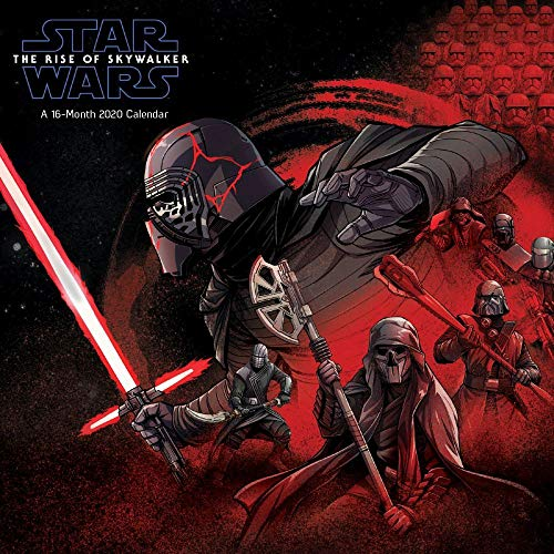 Star Wars The Rise of Skywalker 2020 Calendar