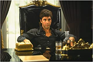 Scarface Movie Al Pacino Wall Decor Art Print 24x36 Inches Photo Paper Material Unframed