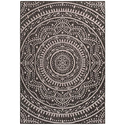 Global Medallion Beautiful Medallion Pattern Indoor/Outdoor Area Rug by Mainstays (5